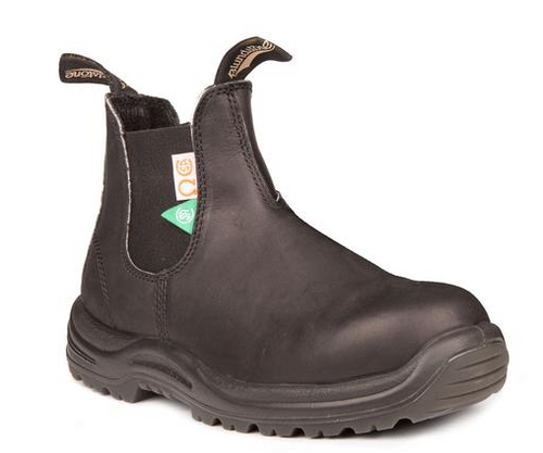 BLUNDSTONE 163 - The CSA Greenpatch in Black Mens