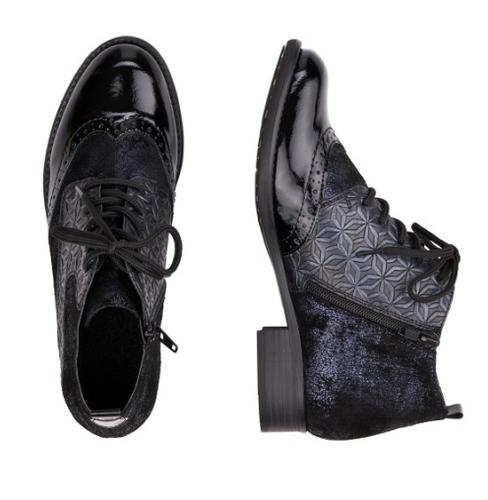 GRANNY BOOT LOW MULTI BLACK (R644614)