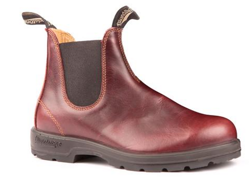 BLUNDSTONE 1440 - THE LEATHER LINED IN REDWOOD (MENS))