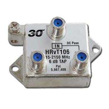Sonora HTvT106 High Performance 6 dB Vertical Tap 1-Port 2-2400 MHz