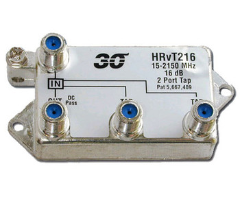 Sonora HRvT216 High Performance 16 dB Vertical Tap 2-Port 2-2400 MHz