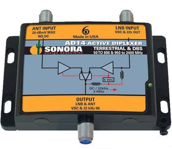 Sonora AD14 Active DBS SWM Off-Air Diplexer