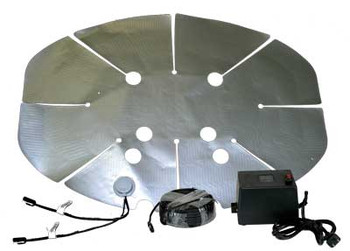 Perfect Vision HSSLNGRFKIT Hot Shot Universal Peel and Stock Satellite Dish Heater - kit