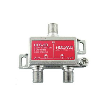 Holland HFS-2D 2-Way Diode Steered Splitter (5-2150 MHz)