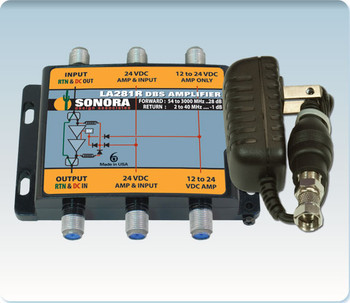 Sonora LA281R-T Digital DBS & ATSC TV Distribution Amplifier