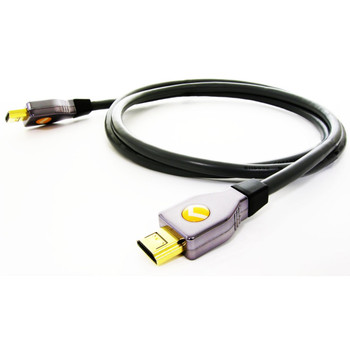 Perfect Path HD-1000-8 8ft Locking HDMI Cable with Ethernet Channel