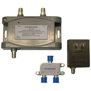 Winegard HDA-100 Distribution Amplifier 5-1000MHz 15dB Gain
