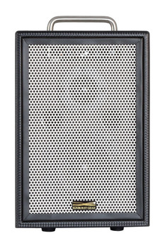 Sunburst Gear M1R3 3 Channel Mixer/Monitor Compact Portable All-In-One Rechargeable Battery Powered PA Speaker System - front view