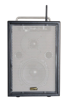 Sunburst Gear M6BR8 6 Channel Mixer/Monitor Portable All­‐in­‐One Rechargeable Bluetooth PA Speaker System - front view