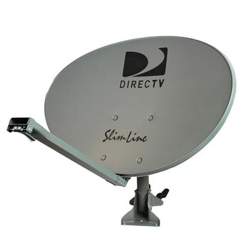 DIRECTV SLREF-4PK Slimline Reflector Kit (4 Pack) - Free Shipping! Example of assembled slimline dish.