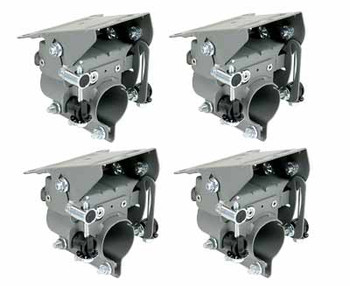 DIRECTV BAU4R2 Fine Tuning Back Assembly for Slimline Dish (4 Pack - BAU-4PKv2)