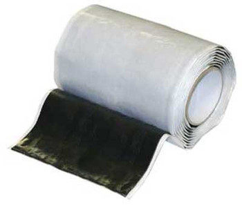 "Perfect Vision PV2665 SureSeal Compound Sealant Bishop Tape 6 1/2"" Wide x 10 FT ROLL - DIRECTV and HughesNet Approved"