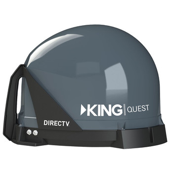 KING Quest VQ4100 Portable Satellite TV Antenna for DIRECTV
