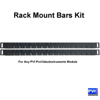 ProVideoInstruments Rack Mount Bars Kit for all PVI Encoder Modules
