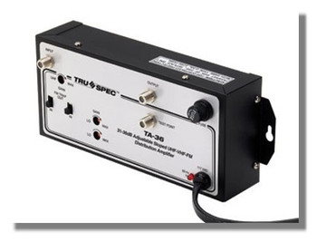 Pico Macom TA-36 Tru Spec 36dB Digital OTA Off-Air Amplifier with Adjustable Gain