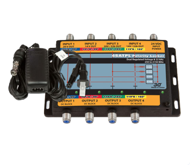 Sonora 4SATPL-T DIRECTV Slimline Ku/Ka Polarity Locker & Power Inserter