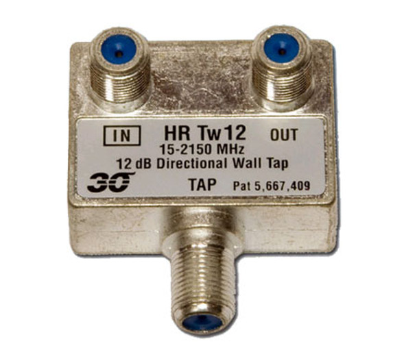 Sonora HRTw112 High Performance 12 dB Wall Tap 1-Port 2-2400 MHz