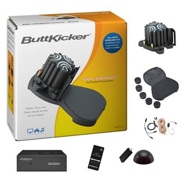 ButtKicker Wireless Home Theater Kit with Advance and Power Amplifier