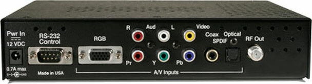 Contemporary Research QMOD-HD HDTV HD Encoder / QAM Modulator