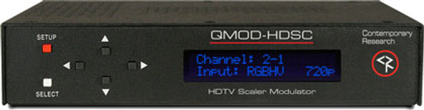 Contemporary Research QMOD-HDSC HDTV QAM Modulator / Scaler