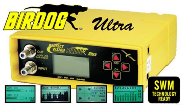BIRDOG ULTRA Satellite Signal Meter & Locator