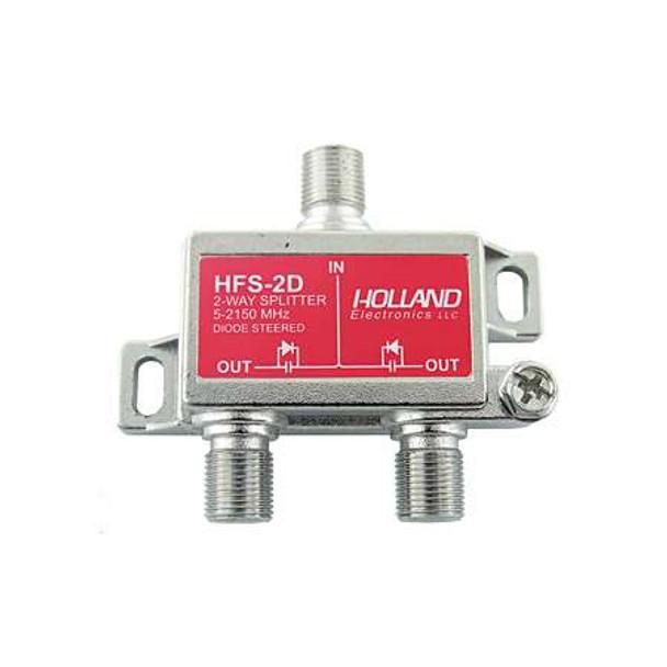 Holland HFS-2D 2-Way Diode Steered Splitter (5-2150 MHz)