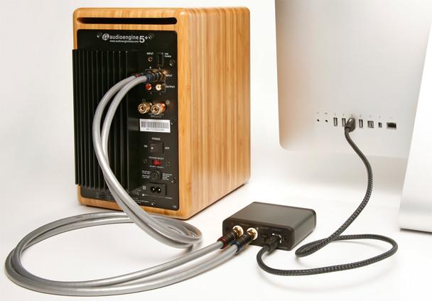 Audioengine D1 Premium 24-Bit Digital to Analog Converter