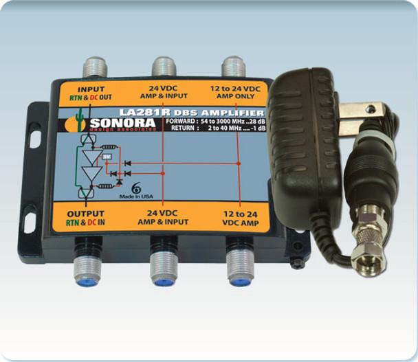 Sonora LA281R-T Digital DBS & ATSC TV Distribution Amplifier