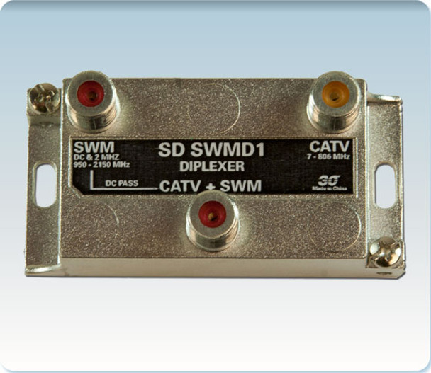 Sonora SD SWMD1 SWM + CATV High Isolation Diplexer
