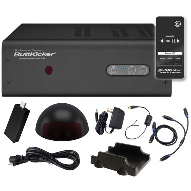 ButtKicker BKA300-4 300W Transducer Power Amplifier with Wireless Remote