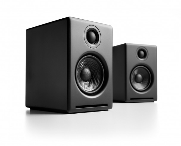 Audioengine A2+ Powered Desktop Speakers - Black (Pair)