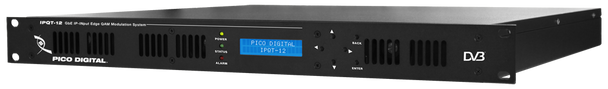 Pico Digital IPQT-12 GbE IP Input Edge QAM Encoder Modulation System