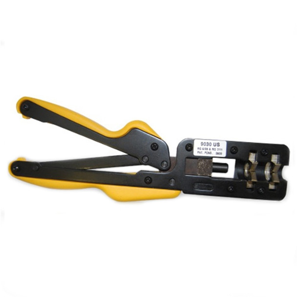 Sargent 9030 US Uni-Seal 360° Combo Compression Tool for RG6/59 & RG11/7 - Best Price!