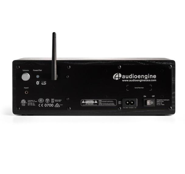 Audioengine B2 Premium Bluetooth Speaker (Black Ash) - Rear Panel Connections