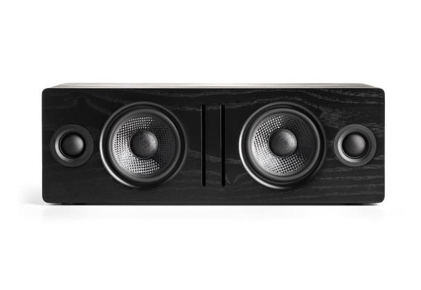 Audioengine B2 Premium Bluetooth Speaker (Black Ash) - no grill white background