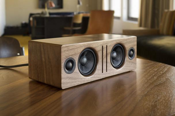 Audioengine B2 Premium Bluetooth Speaker - Walnut (B2-WAL) - Music Lifestyle