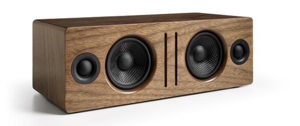 Audioengine B2 Premium Bluetooth Speaker - Walnut (B2-WAL) - Front Angle