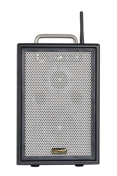 Sunburst Gear M1BR3 Three Channel Mixer/Monitor Compact Portable Rechargeable Bluetooth PA Speaker System - front view