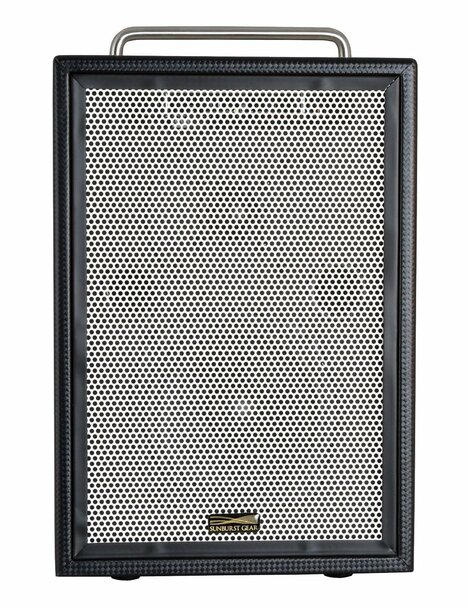 Sunburst Gear M3R8 Portable All-In-One Rechargeable Battery Powered PA Speaker System - front view