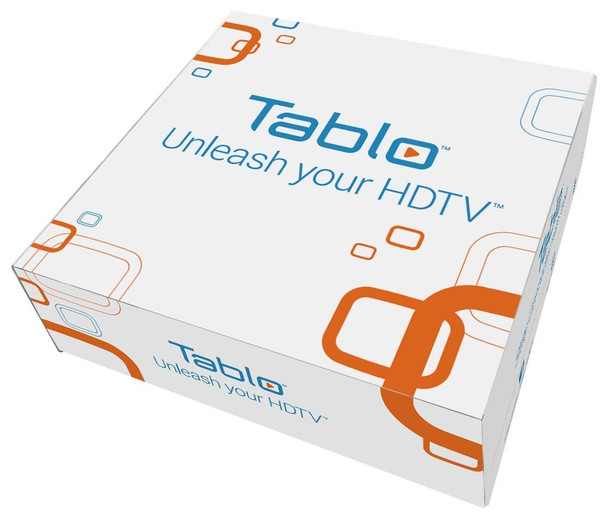 Tablo SPVR4-01-NA 4-Tuner Whole Home Over-The-Air HD DVR for HDTV Antennas - Packaging
