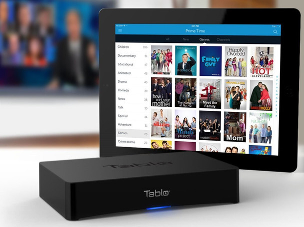 Tablo SPVR2-01-NA 2-Tuner Whole Home Over-the-Air HD DVR for HDTV Antennas - stream anywhere on any device