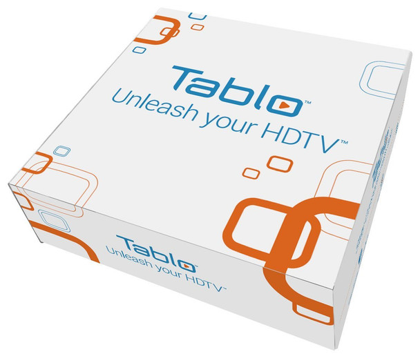 Tablo SPVR2-01-NA 2-Tuner Whole Home Over-the-Air HD DVR for HDTV Antennas - packaging