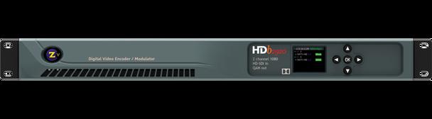 ZeeVee HDbridge 2920 HD-SDI 2-Channel Broadcast Quality Digital Encoder - 1080p - front panel