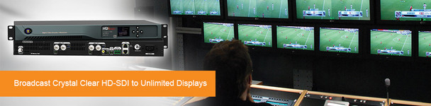 ZeeVee HDbridge 2920 HD-SDI 2-Channel Broadcast Quality Digital Encoder - 1080p - broadcast over QAM