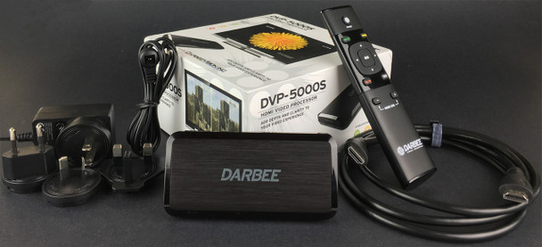 DarbeeVision DVP-5000S HDMI Video Processor with Darbee Visual Presence 2.0 - Complete Package