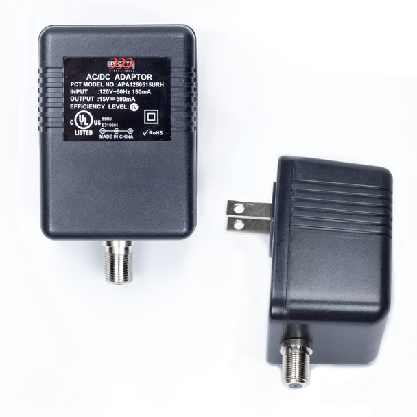 Power Supply for PCT-VC-9P Cable TV 9 Port RF Bypass Amplifier with Passive Return