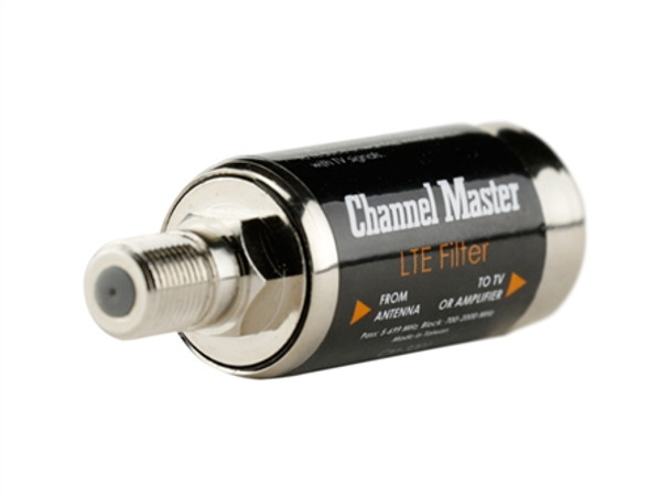 LTE Filter by Channel Master Improves TV Antenna Signals Recommend for all TV antenna installations.