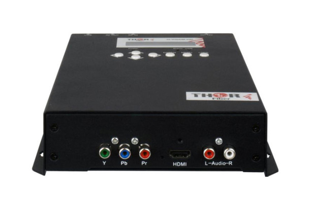Thor H-AC3-CMOD-QAM 1-Channel Compact HDMI to QAM Encoder Modulator with Dolby AC3 - HDMI component composite connections