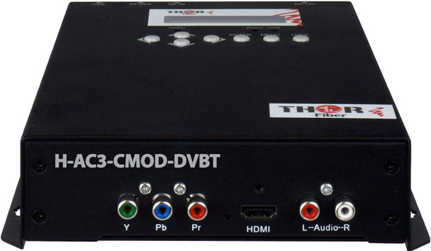 Thor H-AC3-CMOD-DVBT 1-Channel Compact HDMI to DVB-T Encoder Modulator with Dolby AC3 - HDCP compliant