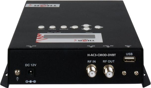 Thor H-AC3-CMOD-DVBT 1-Channel Compact HDMI to DVB-T Encoder Modulator with Dolby AC3
